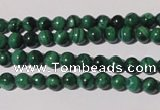 CMN202 15.5 inches 4mm round natural malachite beads wholesale