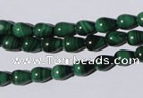 CMN217 15.5 inches 6*8mm teardrop natural malachite beads wholesale
