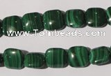 CMN293 15.5 inches 10*10mm square natural malachite beads wholesale