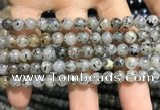 CMQ101 15.5 inches 6mm round moss quartz beads wholesale