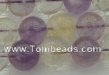 CMQ314 15.5 inches 12mm round citrine & amethyst beads wholesale