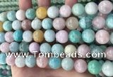 CMQ469 15.5 inches 12mm round mixed gemstone beads wholesale