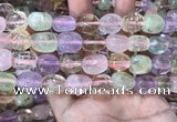 CMQ512 15.5 inches 10*12mm - 13*18mm nuggets colorfull quartz beads