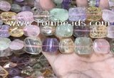 CMQ513 15.5 inches 13*18mm - 15*20mm nuggets colorfull quartz beads