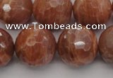CMS1017 15.5 inches 16mm faceted round AA grade moonstone beads