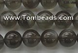 CMS1073 15.5 inches 10mm round grey moonstone beads wholesale