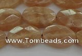 CMS1106 15.5 inches 12*16mm faceted oval moonstone gemstone beads