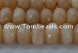 CMS1172 15.5 inches 6*10mm faceted rondelle moonstone beads