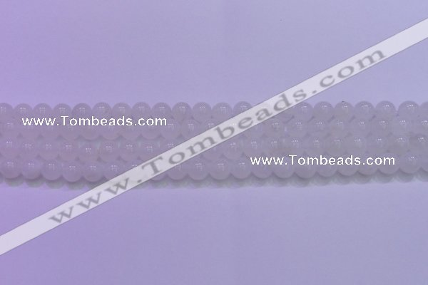 CMS1252 15.5 inches 8mm round natural white moonstone beads