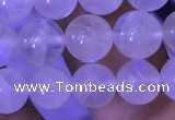 CMS1410 15.5 inches 8mm round white moonstone gemstone beads