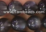 CMS1430 15.5 inches 10mm round black moonstone gemstone beads