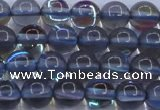 CMS1512 15.5 inches 8mm round synthetic moonstone beads wholesale