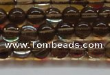 CMS1521 15.5 inches 6mm round synthetic moonstone beads wholesale