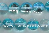 CMS1554 15.5 inches 12mm round synthetic moonstone beads wholesale