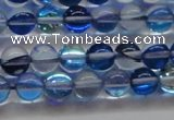 CMS1581 15.5 inches 6mm round synthetic moonstone beads wholesale