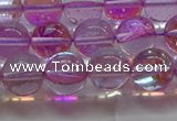 CMS1593 15.5 inches 10mm round synthetic moonstone beads wholesale