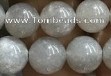 CMS1652 15.5 inches 8mm round grey moonstone beads wholesale