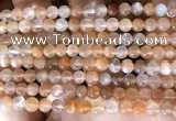 CMS1712 15.5 inches 6mm round rainbow moonstone beads wholesale