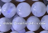 CMS1922 15.5 inches 8mm round white moonstone gemstone beads