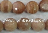 CMS63 15.5 inches 16mm faceted round moonstone gemstone beads