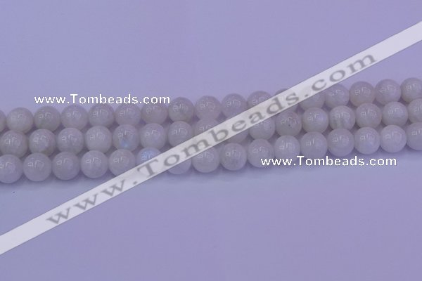 CMS643 15.5 inches 10mm round white moonstone beads wholesale