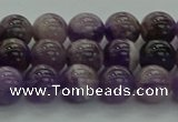 CNA1002 15.5 inches 8mm round dogtooth amethyst beads wholesale