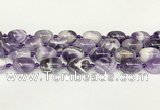 CNA1121 15.5 inches 14*19mm drum dogtooth amethyst beads