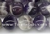 CNA1156 15.5 inches 8mm round natural dogtooth amethyst beads