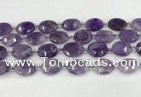 CNA1201 15.5 inches 15*20mm faceted oval amethyst beads