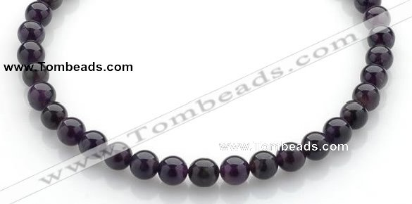 CNA14 16 inch 10mm round natural amethyst quartz beads Wholesale