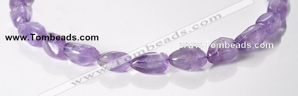 CNA18 16 inch freeform A- grade natural amethyst beads Wholesale