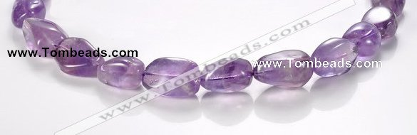 CNA19 freeform A- grade natural amethyst quartz beads Wholesale