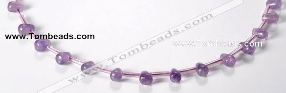 CNA23 6*9mm teardrop A+ grade natural amethyst beads Wholesale