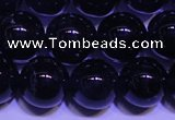 CNA561 15.5 inches 6mm round AA grade natural dark amethyst beads
