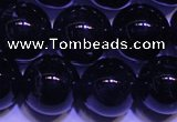 CNA563 15.5 inches 10mm round AA grade natural dark amethyst beads