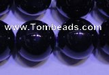 CNA574 15.5 inches 12mm round AAA grade natural dark amethyst beads