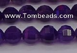 CNA932 15.5 inches 8mm pumpkin amethyst gemstone beads