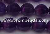 CNA934 15.5 inches 12mm pumpkin amethyst gemstone beads