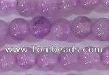 CNA950 15.5 inches 4mm round natural lavender amethyst beads