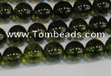 CNC431 15.5 inches 6mm round dyed natural white crystal beads