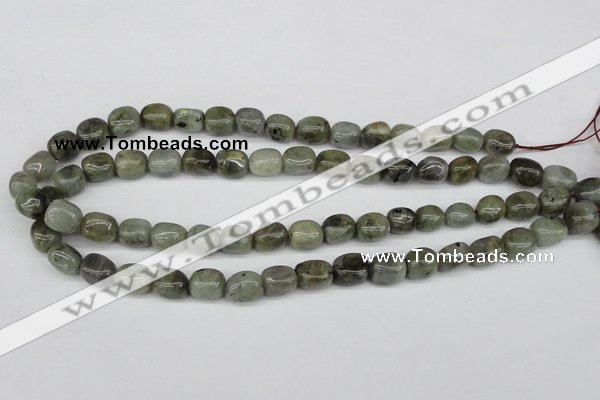 CNG05 15.5 inches 9*12mm nuggets labradorite gemstone beads
