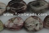 CNG1050 15.5 inches 15*20mm - 20*25mm nuggets morganite gemstone beads