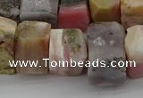 CNG1173 15.5 inches 12*16mm - 15*20mm nuggets pink opal gemstone beads