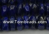 CNG1188 15.5 inches 6*14mm - 8*14mm nuggets lapis lazuli beads