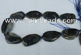 CNG1219 15.5 inches 25*30mm - 30*45mm freeform agate beads