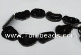 CNG1247 15.5 inches 25*35mm - 30*45mm freeform agate beads