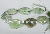 CNG1257 15.5 inches 35*45mm - 40*55mm freeform agate beads