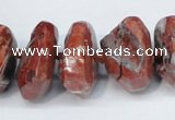 CNG1372 15.5 inches 12*20mm - 18*30mm nuggets agate beads