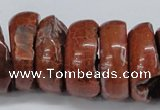 CNG1462 15.5 inches 11*30mm - 13*30mm nuggets agate gemstone beads