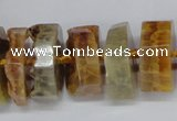 CNG1486 15.5 inches 10*15mm - 12*25mm nuggets agate gemstone beads